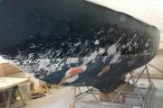 Flushing boatyard repairs storm damage described as 'like a graffiti artist with a knife had run free'