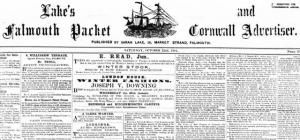 Falmouth Packet: SHOULD THE PACKET REVERT TO ITS OLD MASTHEAD? VOTE IN OUR POLL!